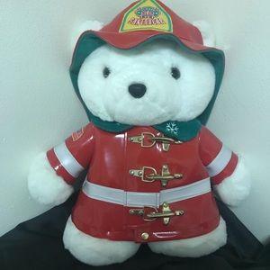 1996 Dayton's Santa Bear Firefighter Fireman Bear